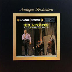 Harry Belafonte - Belafonte at Carnegie Hall - The Complete Concert   --  200g 45RPM 5LP Box Set Made in USA