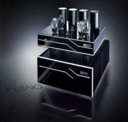 ALIENO - Power Amplifier - 250 Watt per channel - Two 300B tubes - Two chassis - OTL-OCL - Pure Class A