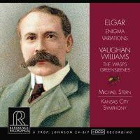Elgar - Enigma Variations / Vaughan Williams - The Wasps Greensleeves  /  Michael Stern & Kansas City Symphony