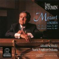 MOZART / CONCERTI N. 21 E N. 24 -  Eugene Istomin, piano - Seattle Symphony Orch. - G. Schwarz. Dir. --  CD Made in USA