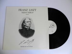 Franz Liszt / Teddy Teirup, piano  --  LP 33 giri Made in USA