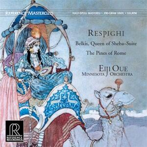 Respighi Belkis, Queen of Sheba & The Pines of Rome  --  LP 33 giri 200 grammi