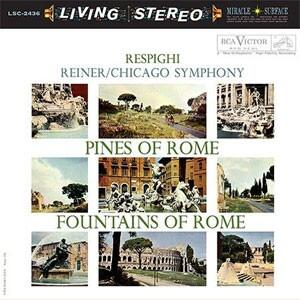 Respighi Pines Of Rome & Fountains Of Rome  --   SACD