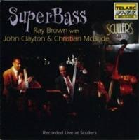 Super Bass / Ray Brown With John Clayton & Christian McBride   --  CD