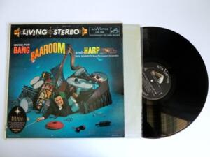 Music For Bang Baaroom And Harp - Dick Schory's New Percussion Ensemble  --  LP 33 giri originale Made in USA  Matrici 3s - 4s