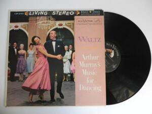 Arthur Murray's Music for Dancing - Waltz  --  LP 33 giri Made in USA