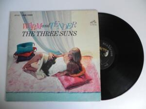 The Three Sun - Warm and Tender  --  LP 33 giri Made in USA