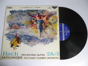 Bach - Orchestral Suites 2 & 3 - Munchinger & Stuttgart Chamber Orchestra  --  LP 33 giri Made in Japan
