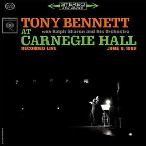Tony Bennett - Tony Bennett at Carnegie Hall  --  Doppio LP a 33 giri su vinile 200 grammi - Made in USA