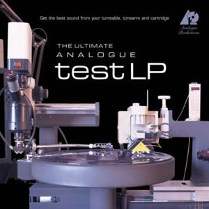 The Ultimate Analogue Test LP  --  LP test  --  LP 180 gr. Made in USA