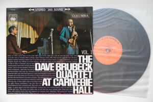The Dave Brubeck Quartet at Carnegie Hall - Vol.1 / The Dave Brubeck Quartet  --  LP 33 giri Made in Japan