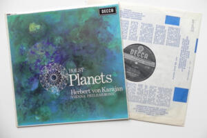 Holst The Planets  / Vienna Philharmonic conducted by Herbert von Karajan  --  LP 33 giri  Made in England - Seconda Edizione