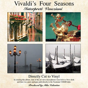 Vivaldi - The Four Seasons --  LP 33 giri su vinile 180 grammi DIRECT TO DISC