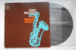 Gerry Mulligan presents A Concert in Jazz  / Gerry Mulligan --  LP 33 giri -  Made in Japan