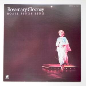 Rosie Sings Bing / Rosemary Clooney  --  LP 33 giri  - Made in Japan