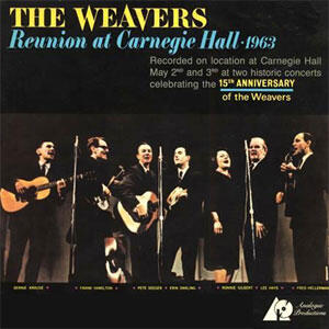 THE WEAVERS REUNION AT CARNEGIE HALL, 1963  --  SACD Ibrido Made in USA