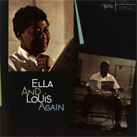 Ella Fitzgerald & Louis Armstrong - Ella And Louis Again Volume One  --  Doppio LP a 33 giri su vinile 200 grammi Made in USA