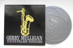 Gerry Mulligan and the Concert Jazz Band at the Village Vanguard - Gerry Mulligan  --  LP 33 giri Made in Japan