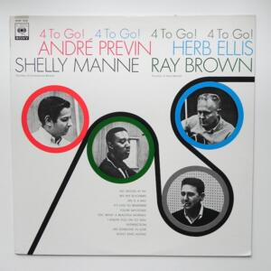 4 To Go! / André Previn - Herb Ellis - Shelly Manne - Ray Brown  --  LP 33 giri - Made in Japan OBI - CBS SONY - 20AP 1435 - LP APERTO