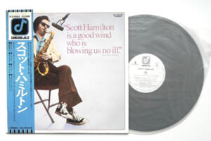 Scott Hamilton - Scott Hamilton --  LP 33 giri - Made in Japan - OBI