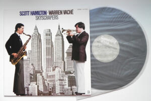 Skyscrapers / Scott Hamilton - Warren Vaché  --  LP 33 giri - Made in Japan