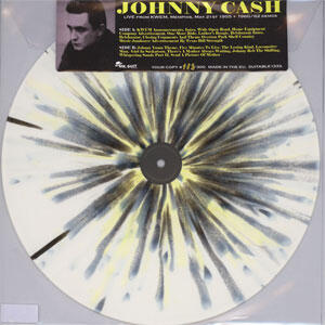 Johnny Cash Live from KWEM, Memphis, May 21st 1955 + 1960/62  -- Numbered Limited Edition LP (White Vinyl)
