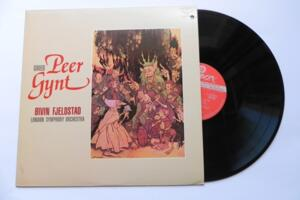 Peer Gynt - Grieg / O. Fjeldstad & L.S.O   --  LP 33 giri  Made in Japan