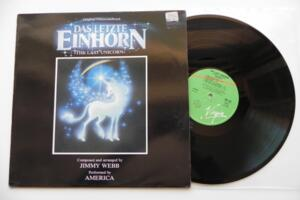 Das Letzte Einhorn - The Last Unicorn - (Soundtrack composta da Jimmy Webb)  -- LP 33 giri - Made in Italy