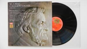 Sir Adrian Conducts Wagner Vol. 2 - LP 33 rpm - Made in UK