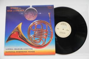Winds of War and Peace - National Symphonic Winds  - Lowell Graham -- LP 33 giri - Made in USA