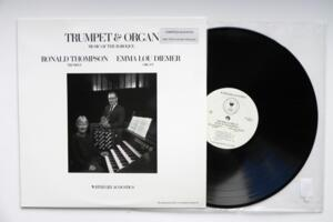 Trumpet & Organ - Music of the Baroque - Ronald Thompson / Emma Lou Diemer  --  LP 33 giri - Limited Edition