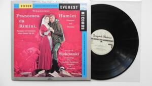 Tchaikovsky / Francesca da Rimini / Hamlet - Stokowski  -- LP 33 rpm 180 gr. - Made in USA