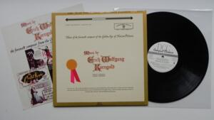 Music of the Foremost Composer of the Golden Age of Motion Pictures - E. W. Korngold  - LP 33 giri  180 gr  - Made in USA