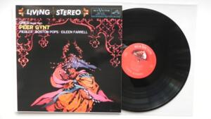 Grieg - Peer Gynt Suites - Lyric Suite - Boston Pops Orchestra - Fiedler / Farrel -- LP 33 giri 180 gr. - Made in USA