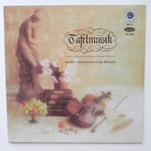 Tafelmusik - Popular Masterworks of the Baroque / Canada's Original-Instrument Baroque Orchestra -- LP 45 giri - Made in USA
