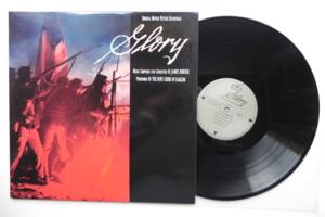 Glory - Music composed and conducted by James Horner - Performed by The Boys Choir of Harlem  -- LP 33 giri - Made in USA