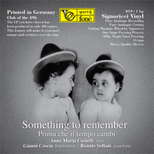 Castelli / Sellani / Coscia - SOMETHING TO REMEMBER  --  LP 33 giri 180 grammi