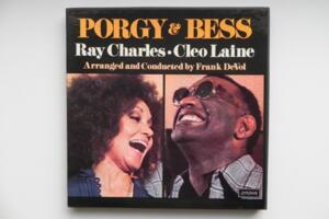 Porgy & Bess  - Ray Charles / Cleo Laine --  Doppio LP 33 giri - Made in USA
