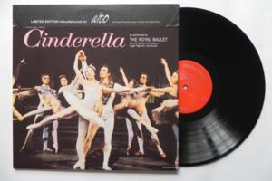 Prokofieff - Cinderella / Hugo Rignol - Covent Garden Orchestra  -- LP 33 giri - 180 gr   - Made in USA