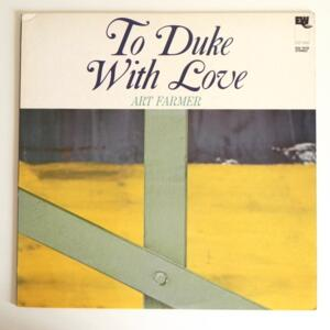 To Duke With Love / Art Farmer --  LP 33 giri - Made in Japan