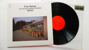 Spain / The Chicago Symphony Orchestra / Fritz Reiner -- LP 33 giri - 180 gr - Made in USA