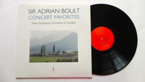 Concert Favorites / New Symphony Orchestra of London / Sir Adrian Boult -- LP 33 giri - 180 gr - Made in USA