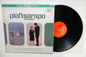 Piaf and Sarapo at the Bobino - Piaf and Sarapo -- LP 33 giri -  Made in USA