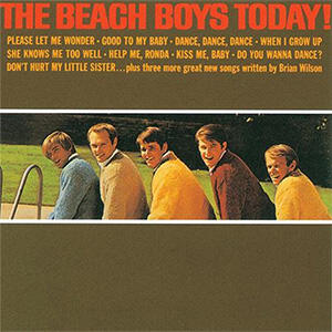 The Beach Boys - The Beach Boys Today!  -- STEREO mix -  LP 33 giri su vinile 200 grammi - Made in USA