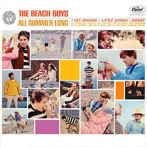 The Beach Boys - All Summer Long  --  STEREO mix - LP 33 giri su vinile 200 grammi - Made in USA