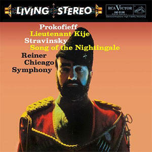 Prokofiev & Stravinsky - Lieutenant Kije & Song Of The Nightingale  --  GOLD CD limited edition