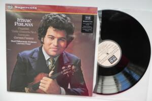 Itzhak Perlman plays Paganini & Sarasate / Royal Philharmonic Orchestra / Lawrence Foster -- LP 33 giri  180 gr. - Made in UK