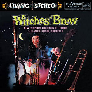 Alexander Gibson & New Symphony Orchestra  of London - Witches' Brew  --  LP 33 giri su vinile 200 gr. Made in USA