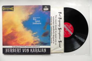 R. Strauss: Also Sprach Zarathustra / The Vienna Philharmonic Orchestra - Von Karajan  -- LP 33 giri - Made in England