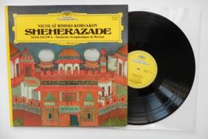 Nicolai Rimski-Korsakov: Sheherazade / Orchestre Symphonique de Boston / Seiji Ozawa  --   LP 33 giri - Made in France